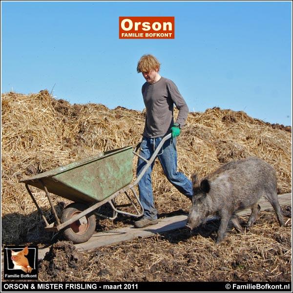 ORSON & MISTER FRISLING - maart 2011
